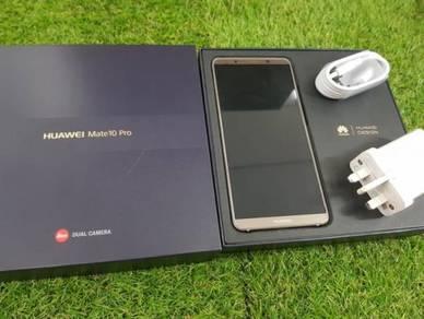 Used Huawei Mate10Pro Brown 6gbram128gb 99%