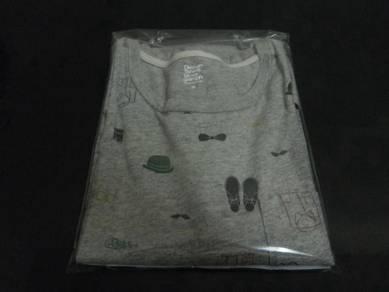 Baju graniph pocket