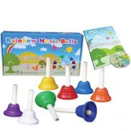 Rainbow Music Bells C/W Teacher's Guide & Cd
