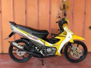 2015 Yamaha 125zr 125z Kuning Cantik Enjin A