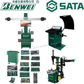 Sata alignment+tyre changer+balancing+tool trolley