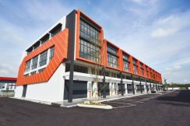 Kesas 32 Industrial Park Shah Alam, 3 Storey Corner Link Factory