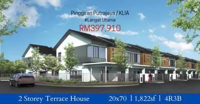 2 Storey Terrace House Pinggiran Putrajaya & KLIA ( 0% DP )