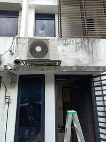 Acson 1.5hp mini ceiling casstte