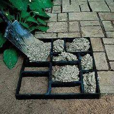 Concrete diy step garden mold 2