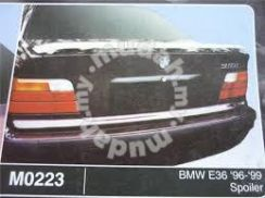 BMW E36 96 TO 99 SPOILER without paint