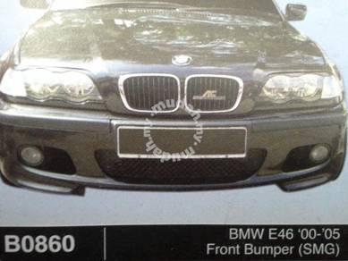 Bmw e46 00 to 05 smg front bumper fibre x paint
