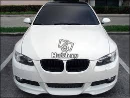 BMW e90 LCI all black sport front grill 05-10