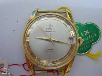 Vintage Owix Eastmaster watch NOS