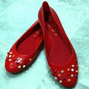 Jelly Bunny -flat Red -Authentic