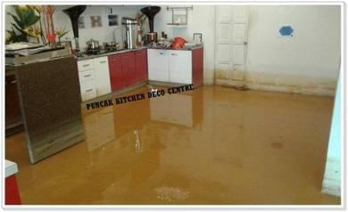 Kabinet Dapur Kalis Banjir di Kota Bharu