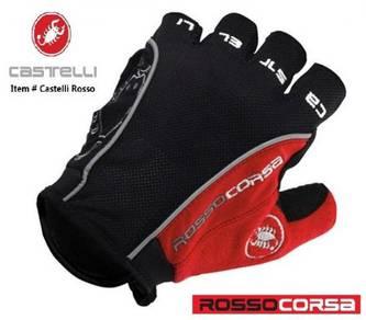 Castelli Rosso Corsa Gel Glove