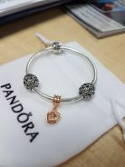 Pandora Rose Gold Interlocking set