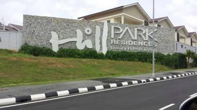 2 Sty zero lot Bungalow , hill park , Alma , Bukit Mertajam