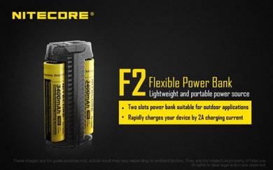 Nitecore F2 Dual Slots Flexible Power Bank Charger