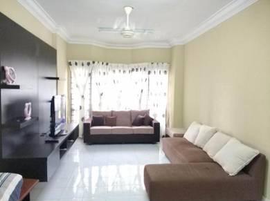 Dwi mahkota 3rooms fully furnished tampoi, johor bahru, skudai