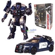 Transformer TF5 police car and toys