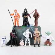 Star War Movie Character PVC Figure Cake Topper