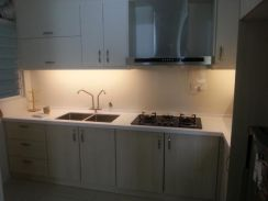 Kitchen cabinet, solid surface buy 1 free 1, dapur