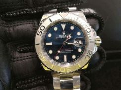PREOWNED ROLEX YATCHMASTER, 116622, ROLESIUM Plat