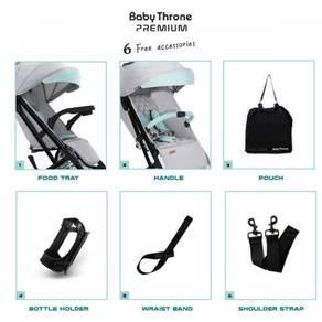 Baby Throne Plus Premium Stroller newborn ~ 4 yrs