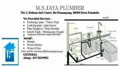 M.S jaya terbaik plumber