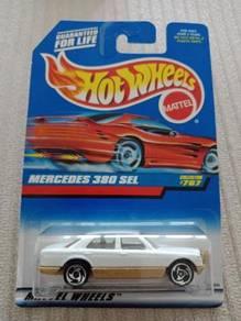 Hotwheels Mercedes 380 SEL White