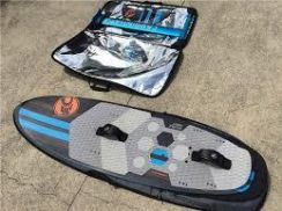 Cabrinha Double Agent kite surfing hydra foil set