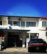 Double Storey Terrace for sale (Friendship Garden) Near Airport