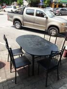 Dining table five seater