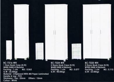 WHITE Book Cabinet