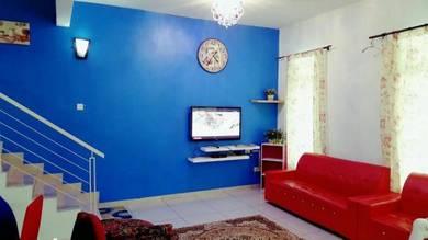 4bilik semua aircond Homestay Villa MiTC Home stay