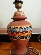 Sarawakian Motif Table Lamp