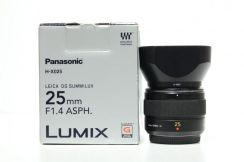 Panasonic Lumix 25mm F1.4 ASPH Lens