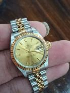Rolex Datejust Ladies 69173 Half Gold