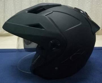 NJS Helmet (Black Matte)