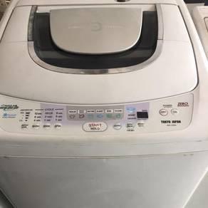 Toshiba 9kg washing machine mecin basuh
