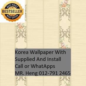 Wall paper with Installation for your HOME bg6