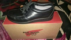 Red Wing,size 8,black calor