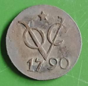 Duit Syiling VOC 1790