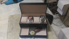 PWatch and Ring Box Gshock Rado Tissot