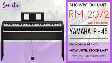 Yamaha Digital Piano P45 P-45 P 45 (Opened)