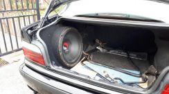 Bmw kicker sub woofer