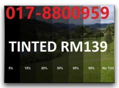Promosi Tinted Tahan Panas UV99% USA FILM home