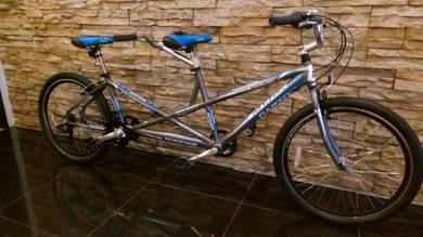 0% SST Bicycle Basikal Alloy Tandem MTB -Factory