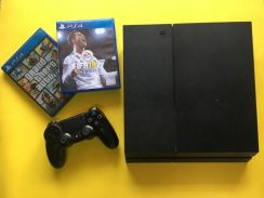 PS4 Black 500GB