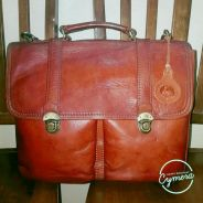 Messenger Bag Leather Rinbow Duck