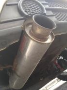 Exhaust Saga BLM Swap with Standard