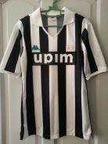Vintage Juventus 1990/91 home jersey jersi