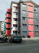 Iris Apartment Saujana Utama 750sfqt RENOVATED FULL LOAN GROUND FLOOR